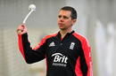 England Women assistant coach Carl Crowe at a photo session, Edgbaston Indoor Cricket Centre, Birmingham, February 2, 2012