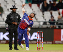 Hussain Talat delivered a double blow, Cape Town Blitz v Nelson Mandela Bay Giants, MSL 2018, Cape Town, November 21, 2018