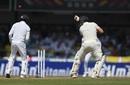 Rory Burns is bowled by Dilruwan Perera, Sri Lanka v England, 3rd Test, Colombo, 1st day, November 23, 2018