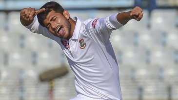Nayeem Hasan bagged a five-for on debut