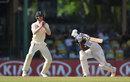 Dimuth Karunaratne was Keaton Jennings' third sharp catch of the innings at short leg, Sri Lanka v England, 3rd Test, Colombo, 2nd day, November 24, 2018