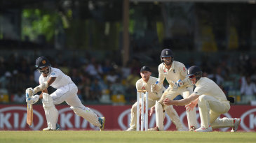 Roshen Silva was Keaton Jennings' fourth sharp catch of a remarkable display at short leg