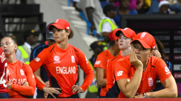 Danielle Hazell and her England team-mates are disappointed after the defeat