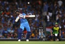 Shikhar Dhawan sways under a bouncer, Australia v India, 3rd T20I, Sydney, November 25, 2018