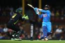 Dinesh Karthik pulls one, Australia v India, 3rd T20I, Sydney, November 25, 2018