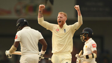 Ben Stokes suckered Angelo Mathews with the short ball