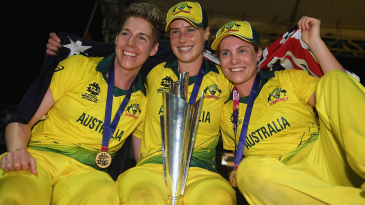 Australia are now four-time winners of the Women's World T20