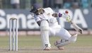 Malinda Pushpakumara was hit on the helmet, Sri Lanka v England, 3rd Test, SSC, Colombo, 4th day, November 26, 2018