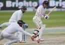 Tom Latham glances one fine down the legside, Pakistan v New Zealand, 2nd Test, Dubai, 3rd day, November 26, 2018