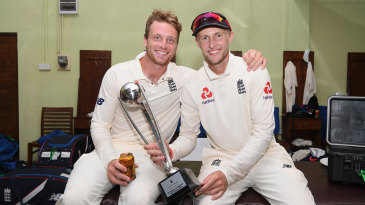 Jos Buttler and Joe Root soak up England's success