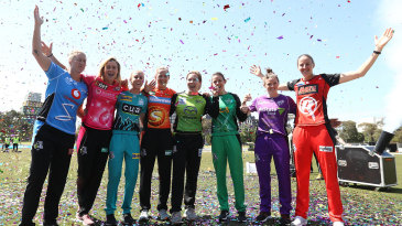 The launch of the 2018-19 WBBL