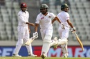Mohammad Mithun and Shadman Islam put on a half-century stand, Bangladesh v West Indies, 2nd Test, Mirpur, 1st day, November 30, 2018