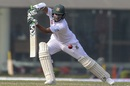 Shakib Al Hasan drives away from his body, Bangladesh v West Indies, 2nd Test, Mirpur, 2nd day, December 1, 2018