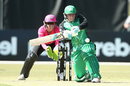 Lizelle Lee waits to swat one away on a way to a hundred, Melbourne Stars v Sydney Sixers, WBBL 2019-19, Melbourne, December 1, 2018