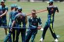 Peter Siddle in action during Australia's training session in Adelaide, Adelaide, December 3, 2018