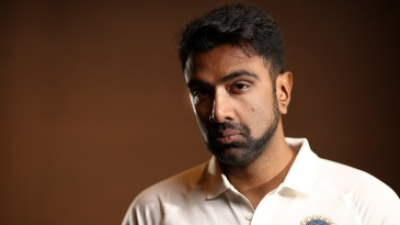 R Ashwin during a photo session in Adelaide