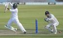 Haris Sohail plays a cut, Pakistan v New Zealand, 3rd Test, Abu Dhabi, 2nd day, December 4, 2018