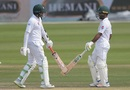 Azhar Ali and Asad Shafiq had a highly profitable union at the crease, Pakistan v New Zealand, 3rd Test, Abu Dhabi, 3rd day, December 5, 2018