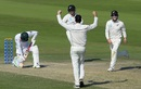 William Somerville dismisses Azhar Ali for his maiden Test wicket, Pakistan v New Zealand, 3rd Test, Abu Dhabi, 3rd day, December 5, 2018
