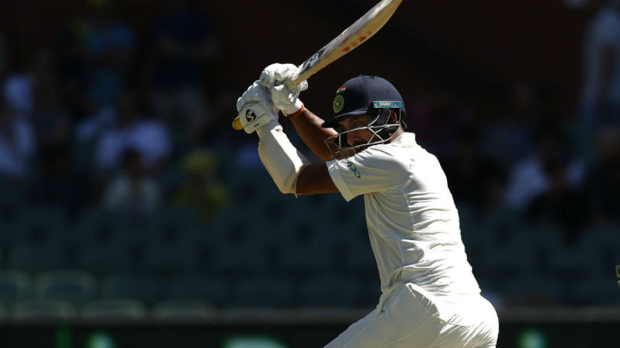 Cheteshwar Pujara was rewarded for his resilience