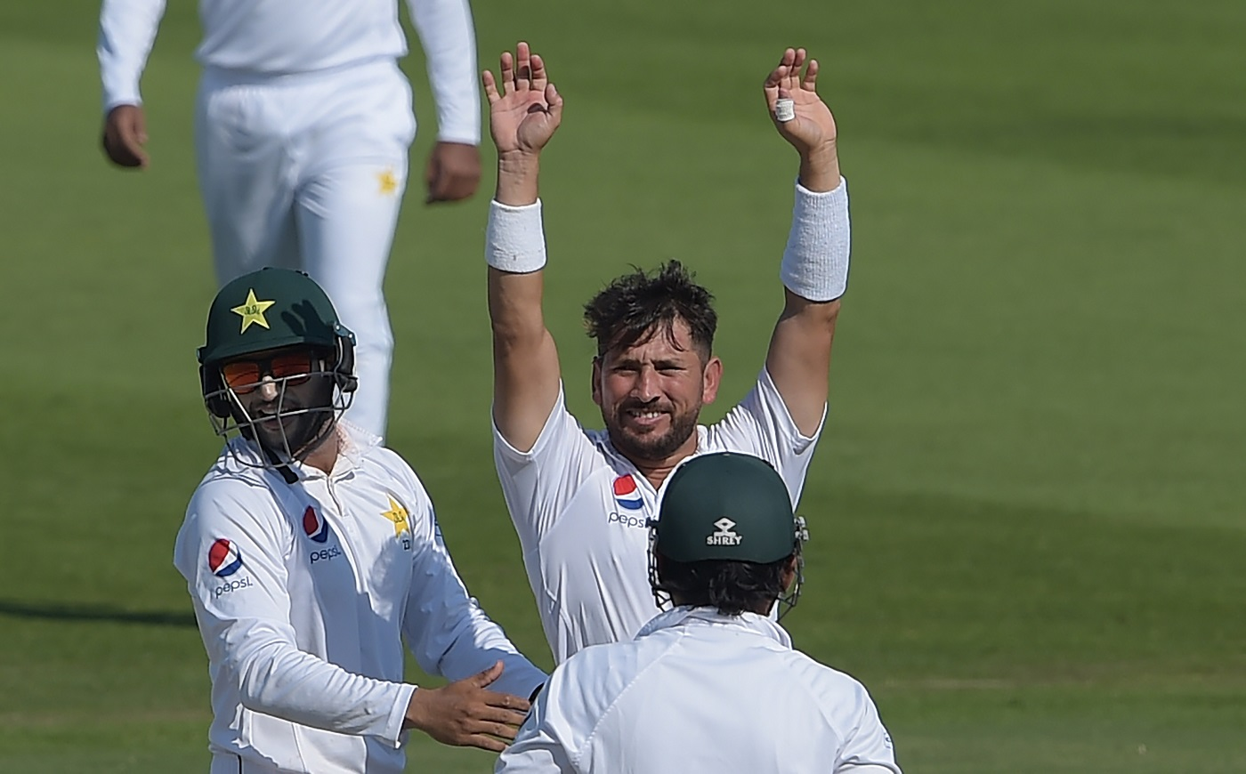Watch: Yasir Shah Loses His Shoe While Running During Comical Run-Out 1