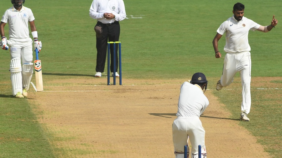 Sandeep Warrier bowled both Indrajith brothers