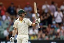 Travis Head acknowledges the applause after a hard-fought fifty, Australia v India, 1st Test, Adelaide, 2nd day, December 7, 2018