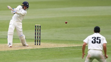 Nic Maddinson made a strong impression in his first Sheffield Shield game for Victoria