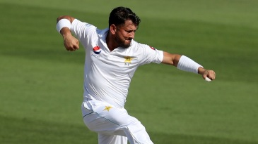 Yasir Shah took two wickets against the run of play