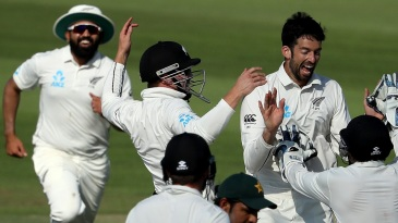 William Somerville took New Zealand towards an unlikely win on debut
