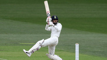 KL Rahul started to play his shots after a careful start