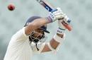 Ajinkya Rahane lets the ball go, Australia v India, 1st Test, Adelaide, 4th day, December 9, 2018