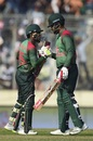 Mushfiqur Rahim and Tamim Iqbal shared a good stand, Bangladesh v West Indies, 2nd ODI, Dhaka, December 11, 2018