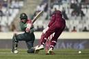 Mushfiqur Rahim brings out the sweep, Bangladesh v West Indies, 2nd ODI, Dhaka, December 11, 2018