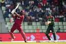 Darren Bravo works one on the off side, Bangladesh v West Indies, 3rd ODI, Sylhet, December 14, 2018