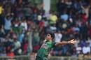 Mohammad Saifuddin celebrates a wicket, Bangladesh v West Indies, 3rd ODI, Sylhet, December 14, 2018