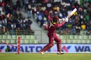 Marlon Samuels gets bowled, Bangladesh v West Indies, 3rd ODI, Sylhet, December 14, 2018