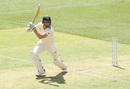 Shaun Marsh carves the ball away, Australia v India, 2nd Test, Perth, 1st day, December 14, 2018