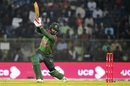 Tamim Iqbal launches one over cover, Bangladesh v West Indies, 3rd ODI, Sylhet, December 14, 2018