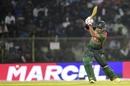 Soumya Sarkar drives powerfully, Bangladesh v West Indies, 3rd ODI, Sylhet, December 14, 2018