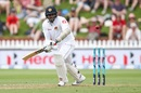 Angelo Mathews nudges one into the on side, New Zealand v Sri Lanka, 1st Test, Wellington, 1st day, December 15, 2018