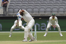 M Vijay missed an inswinger from Mitchell Starc, Australia v India, 2nd Test, Perth, 2nd day, December 15, 2018