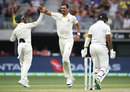 Mitchell Starc had Cheteshwar Pujara caught down the leg side, Australia v India, 2nd Test, Perth, 2nd day, December 15, 2018