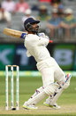 Ajinkya Rahane slashes over the slips, Australia v India, 2nd Test, Perth, 2nd day, December 15, 2018