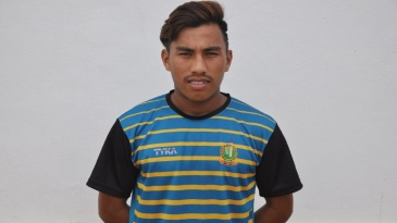 Manipur's Rex Singh returned with brilliant figures of 10/11 in the Cooch Behar Trophy