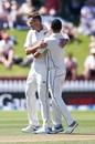 Tim Southee dismissed Lahiru Kumara for his sixth wicket, New Zealand v Sri Lanka, 1st Test, Wellington, 2nd day, December 16, 2018