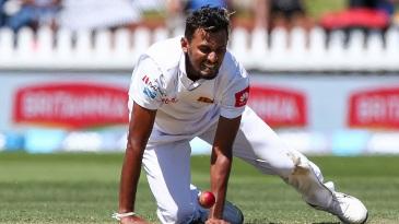 Sri Lanka's bowlers toiled hard without reward