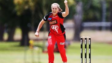 Sophie Molineux celebrates a wicket