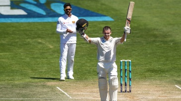 Tom Latham racked up his maiden Test match double century