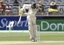 Usman Khawaja tucks the ball away, Australia v India, 2nd Test, Perth, 4th day, December 17, 2018